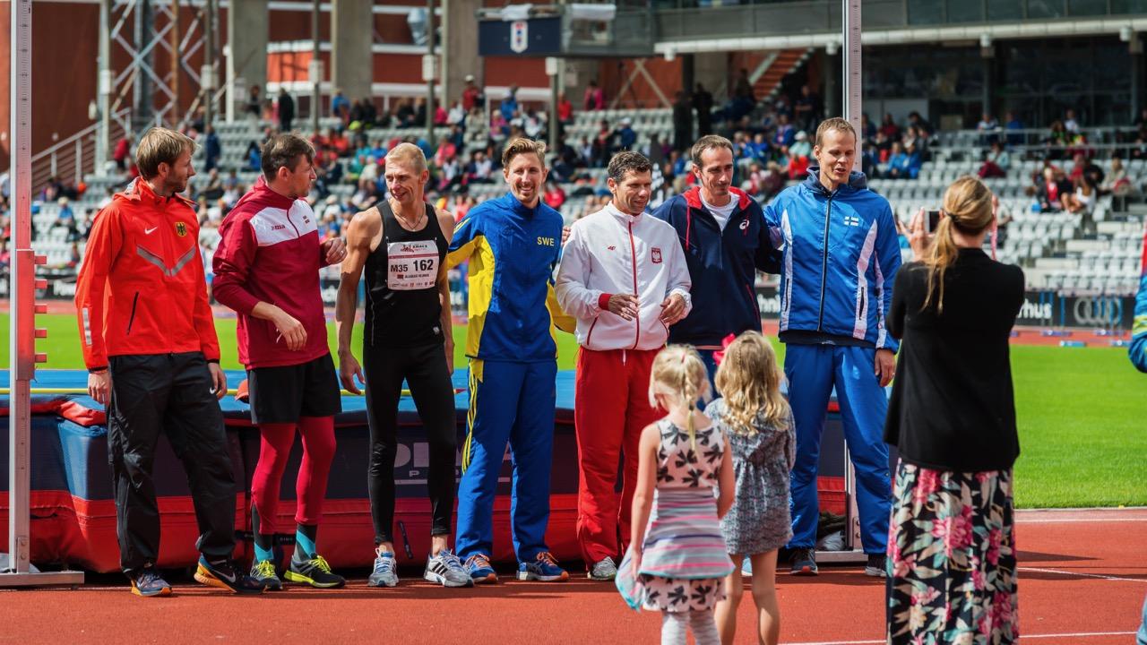04.08.2017 European Masters Championships Stadia — Aarhus