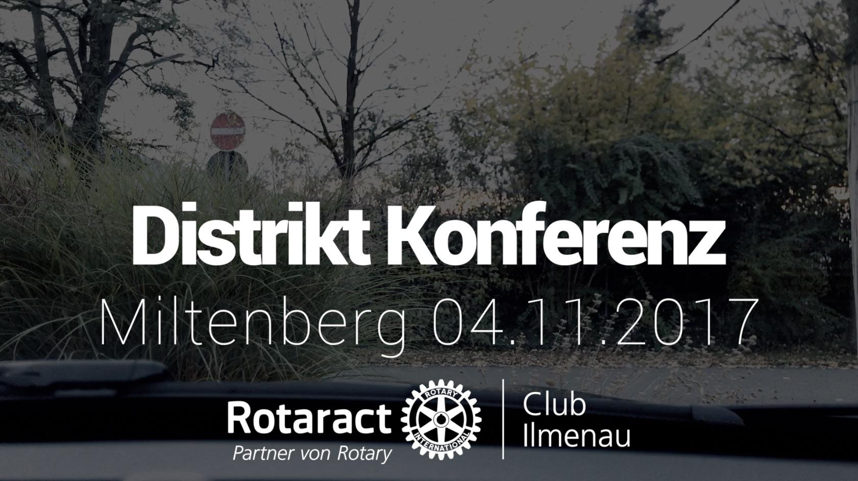 Rotaract Distriktkonferenz Miltenberg 2017 | District 1950 | Rotaract Club Ilmenau