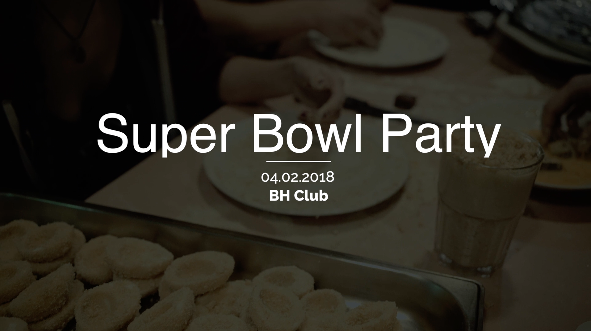 Super Bowl Party 2018 BH Club Ilmenau