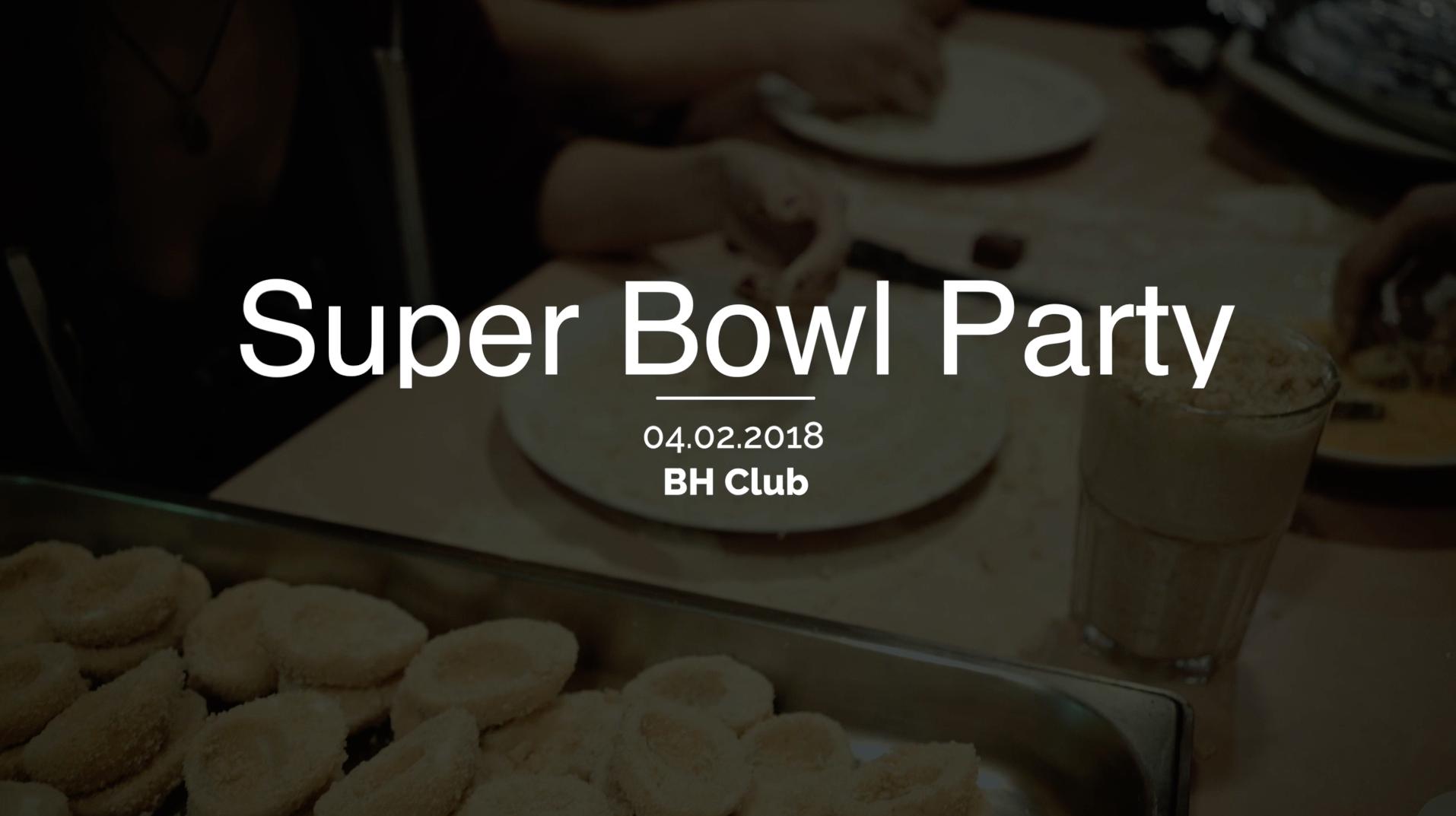 Super Bowl Party 2018 BH Club Ilmenau